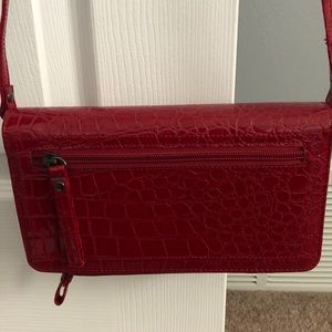 NWOT Buxton Red Crossbody Bag